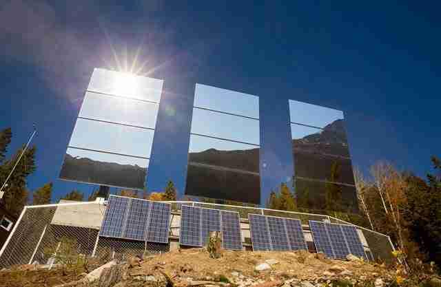 dinfo.gr - Έφτιαξαν τον δικό τους ήλιο με γιγάντια κάτοπτρα