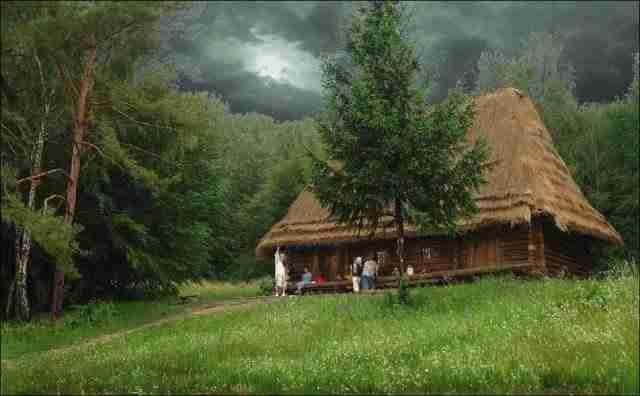 dinfo.gr - 30 υπέροχα ξύλινα σπιτάκια μέσα στο δάσος