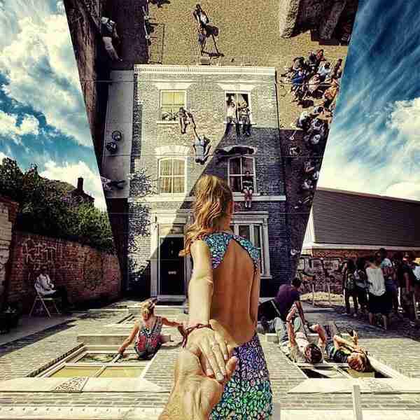 dinfo.gr - Ο φωτογράφος που εξακολουθεί να ακολουθεί την φίλη του στον κόσμο
