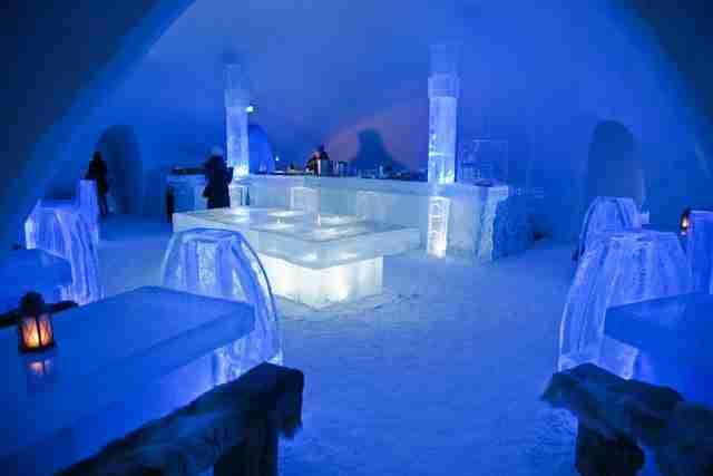 dinfo.gr - Πέντε ξενοδοχεία φτιαγμένα από... πάγο