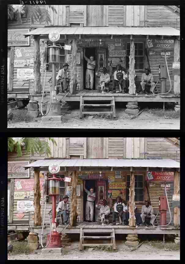 dinfo.gr - 20 ιστορικές ασπρόμαυρες φωτογραφίες γίνονται έγχρωμες!