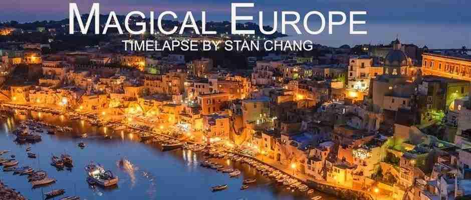 Μαγευτική Ευρώπη! Ένα time lapse video που συναρπάζει