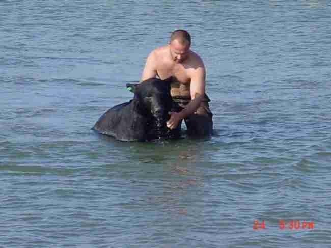 Ένας ήρωας έκανε το αδιανόητο για να σώσει ένα από τα πιο επικίνδυνα ζώα του πλανήτη