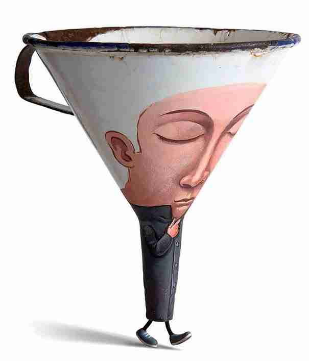 dinfo.gr - Καλλιτέχνης μετατρέπει καθημερινά αντικείμενα σε απολαυστικούς χαρακτήρες
