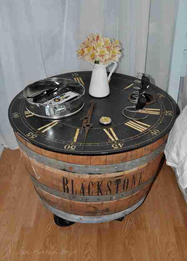 Έχετε παλιά ξύλινα βαρέλια; Αν ναι, δείτε τι μπορείτε να φτιάξετε με αυτά..