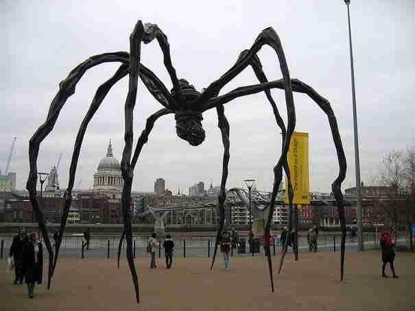«Αράχνη» , Tate Modern, Λονδίνο, Ηνωμένο Βασίλειο