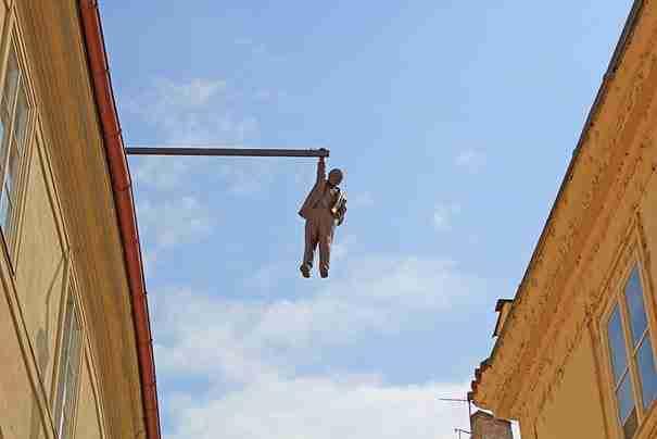 «Κρεμασμένος άνθρωπος» , Πράγα, Δημοκρατία της Τσεχίας