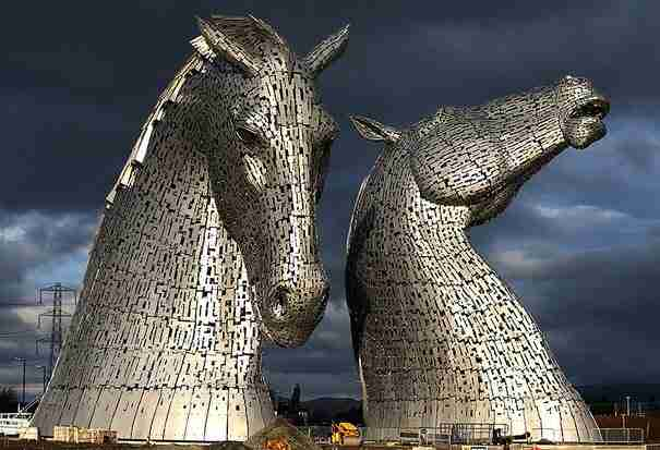 «Kelpies» , Grangemouth, UK