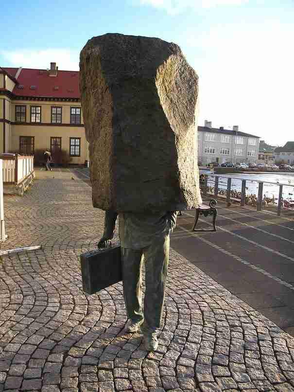 «Ο Άγνωστος» , Ρέικιαβικ, Ισλανδία