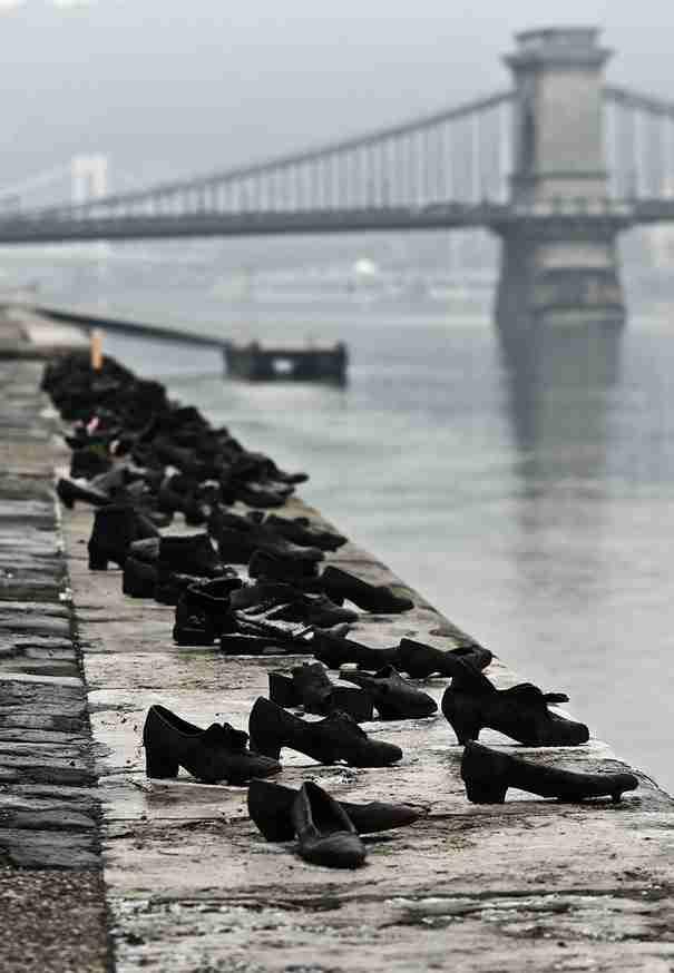 «Τα παπούτσια στο Δούναβη» , Βουδαπέστη, Ουγγαρία