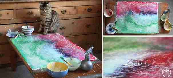 Ένα 5χρονο κοριτσάκι με αυτισμό ζωγραφίζοντας δημιουργεί αριστουργήματα!