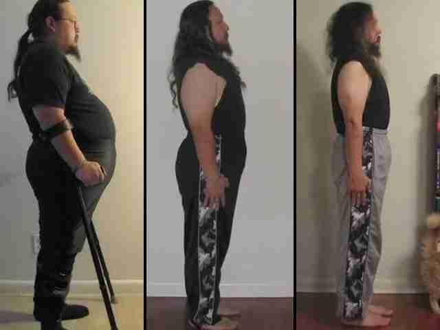 Οι γιατροί του του είπαν ότι δεν πρόκειται να περπατήσει ξανά. Ο ίδιος όμως είχε άλλη γνώμη