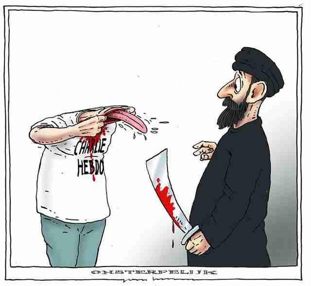 Κανείς δεν μπορεί να σταματήσει την Charlie Hebdo
