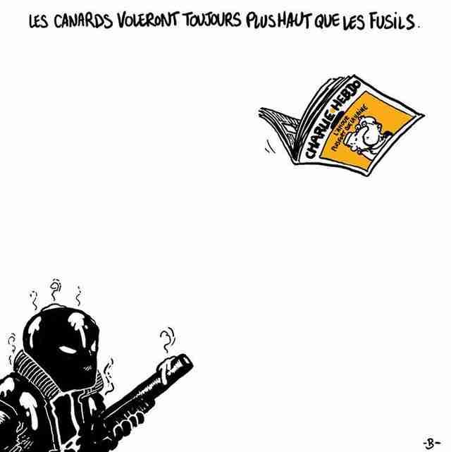 Οι εφημερίδες πετούν πάντα ψηλότερα από τα όπλα