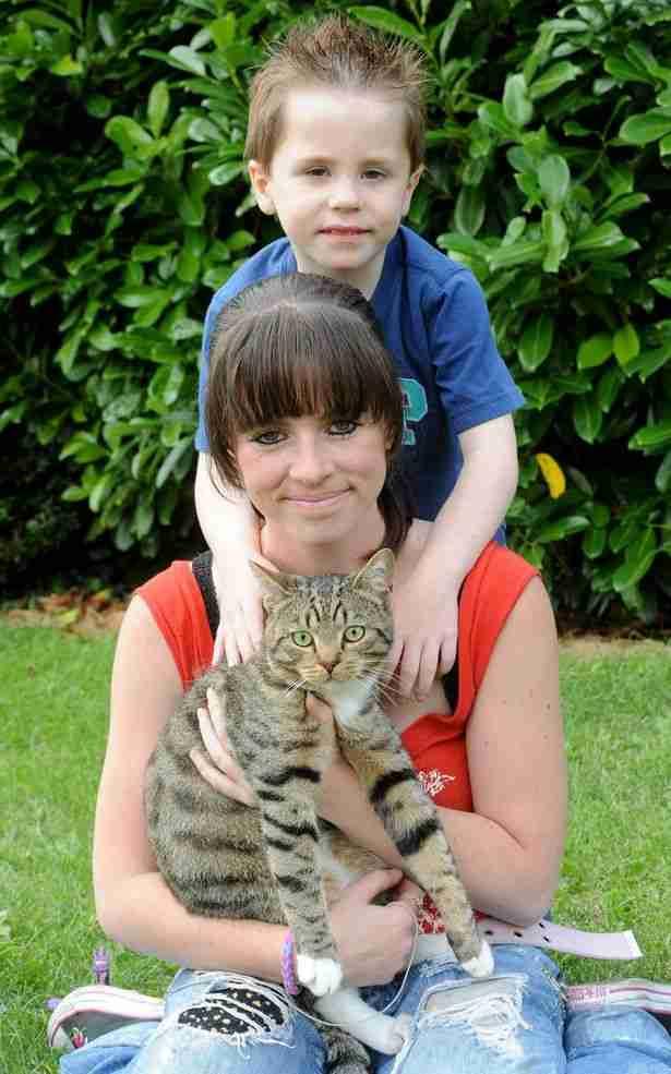 Διαβάστε τι έκανε αυτός ο γάτος όταν είδε ότι ο ιδιοκτήτης του κινδυνεύει!
