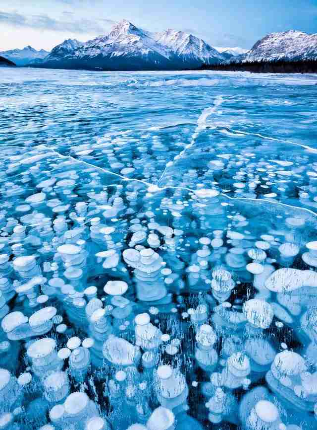 Λίμνη Αβραάμ, Καναδάς