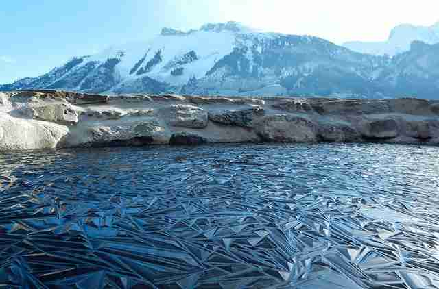 Λιμνούλα στην Ελβετία