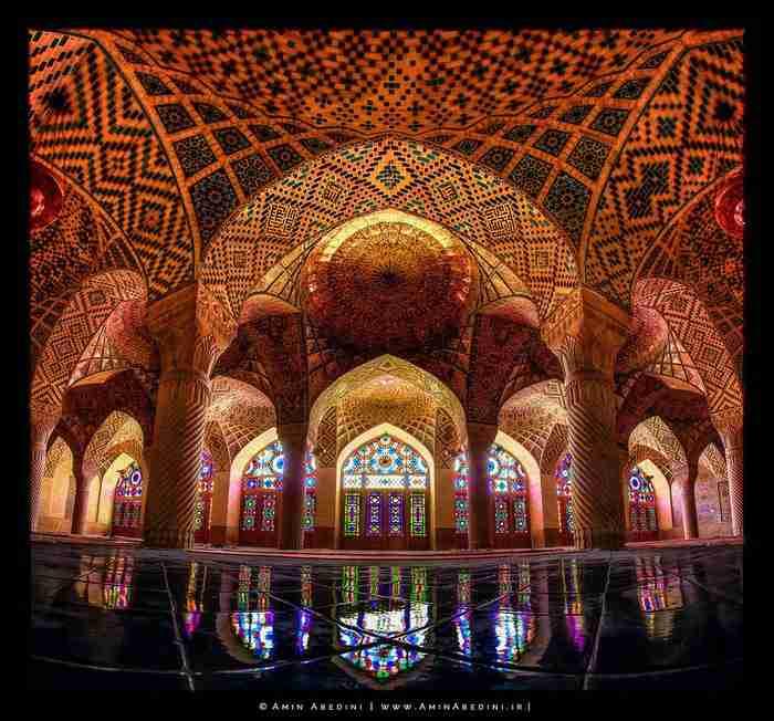 Nasir al-Mulk, Σιράζ, Ιράν