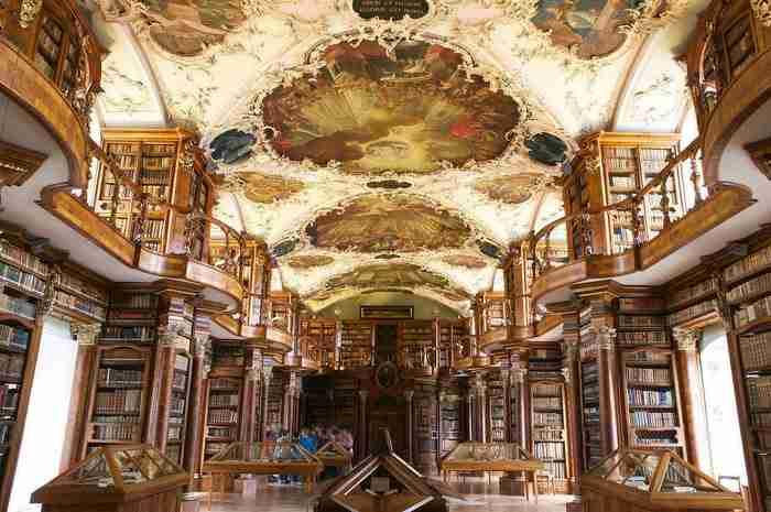 Βιβλιοθήκη Abbey, Γκάλεν, Ελβετία