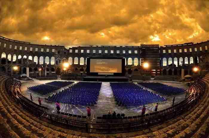 Arena, Πούλα, στη Κροατία