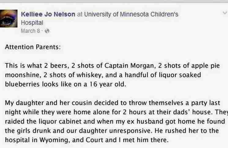 Μια απελπισμένη μητέρα έγραψε κάτι στο Facebook της κόρης της. Διαβάστε το..
