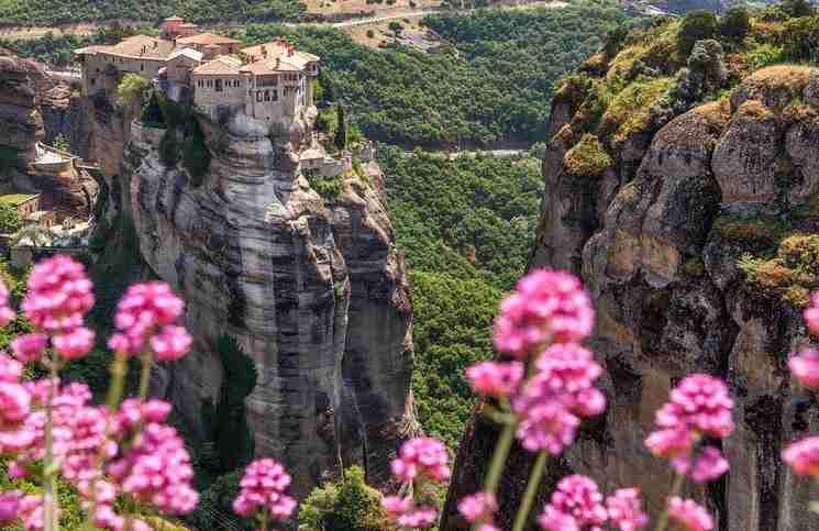 Μετέωρα, Ελλάδα