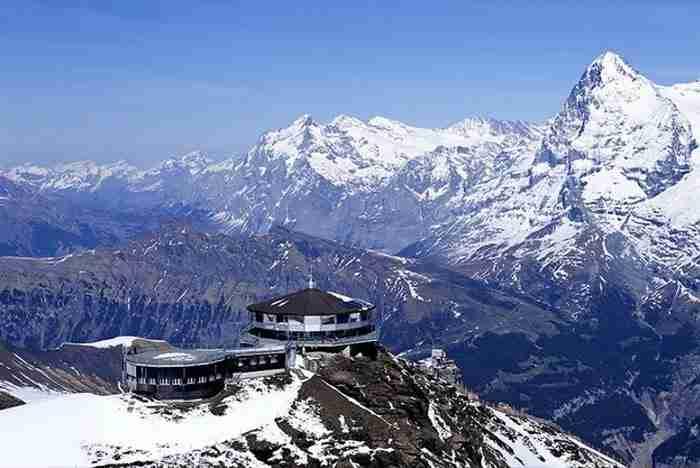 Piz Gloria στη Murren, Ελβετία