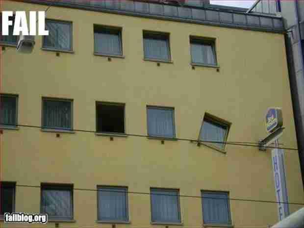 Κάποιος πρέπει να δώσει βραβείο σε αυτόν που τοποθέτησε αυτό το παράθυρο!