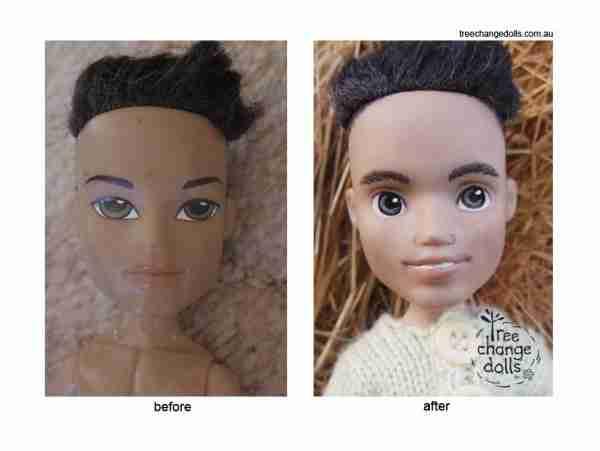 Μια μητέρα μεταμορφώνει εκπληκτικά τις κούκλες Bratz για να μοιάζουν με παιδιά!