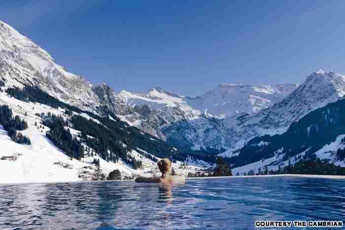 Πισίνα στην Κάμβρια, στην Ελβετία