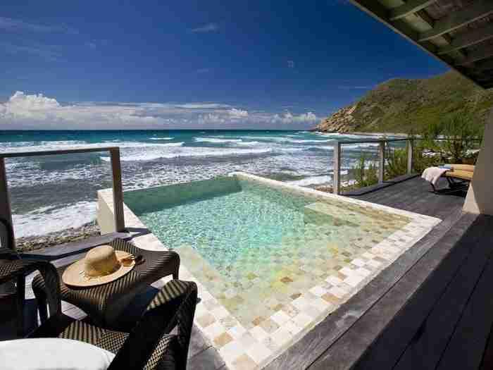 Πισίνα στο ξενοδοχείο Biras Creek στις Βρετανικές Παρθένες Νήσους