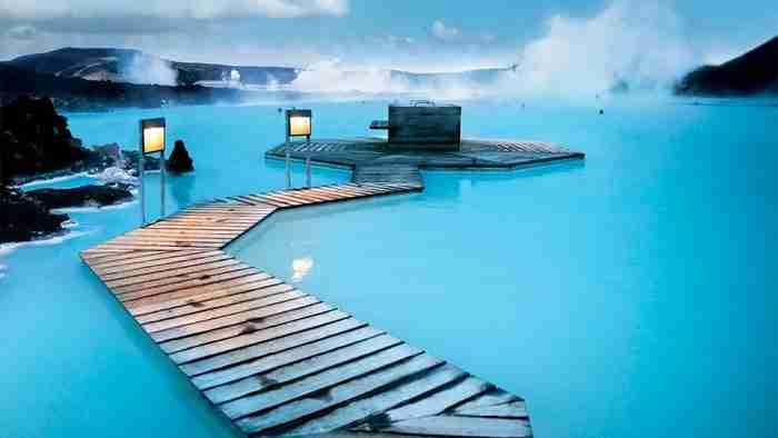 Πισίνα Blue Lagoon Resort στην Ισλανδία