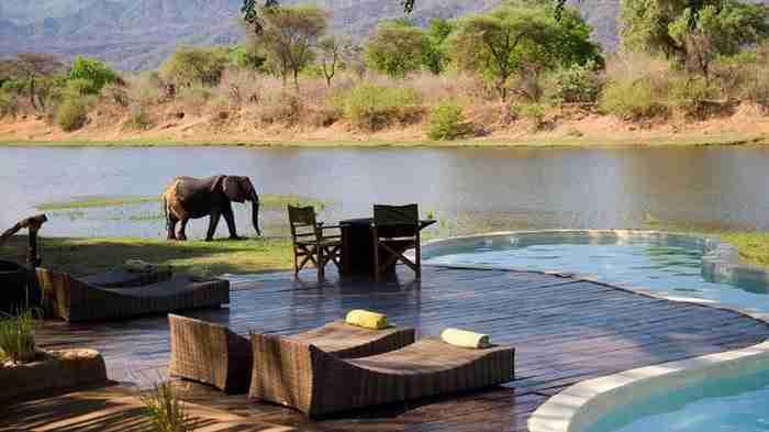 Chongwe River House στη Ζάμπια, Αφρική