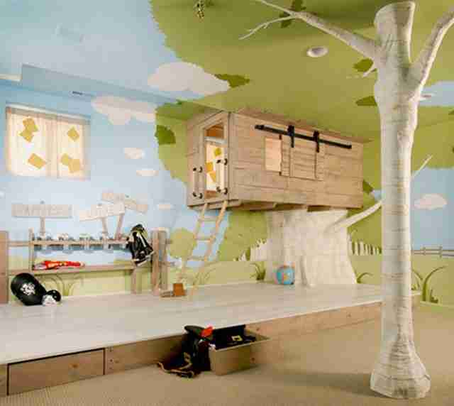 Το τέλειο δωμάτιο για τα παιδιά σας.