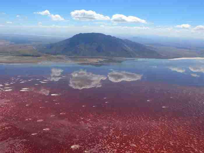 Η θανατηφόρα λίμνη