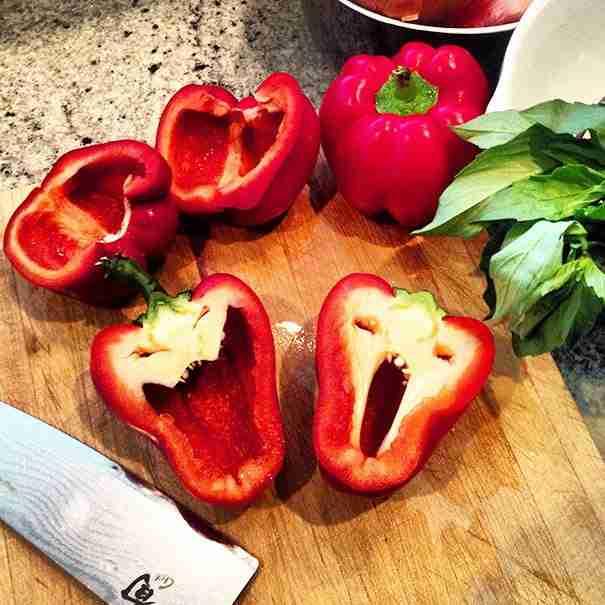 Τρομοκρατημένες πιπεριές!