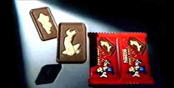 Αυτά τα σοκολατάκια με τους ήρωες της Disney να αποτελούνται από λευκή σοκολάτα μέσα στην ήδη υπάρχουσα σοκολάτα γάλακτος. Inception.
