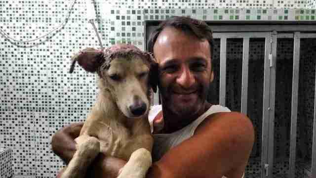 Παρ όλη την κακοποίηση που είχε δεχθεί από το είδος μας, σιγά-σιγά άρχισε να εμπιστεύεται τον Coutinho…