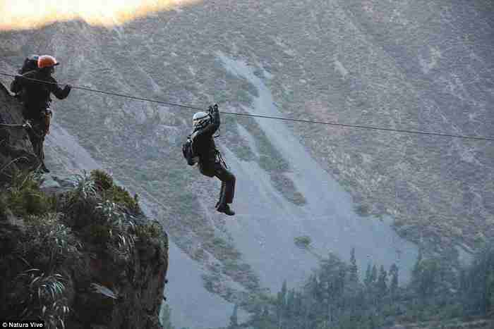 """Το """"κινητό ξενοδοχείο"""" είναι εμπνευσμένο από Aμερικανικές τεχνικές ορειβασίας."""