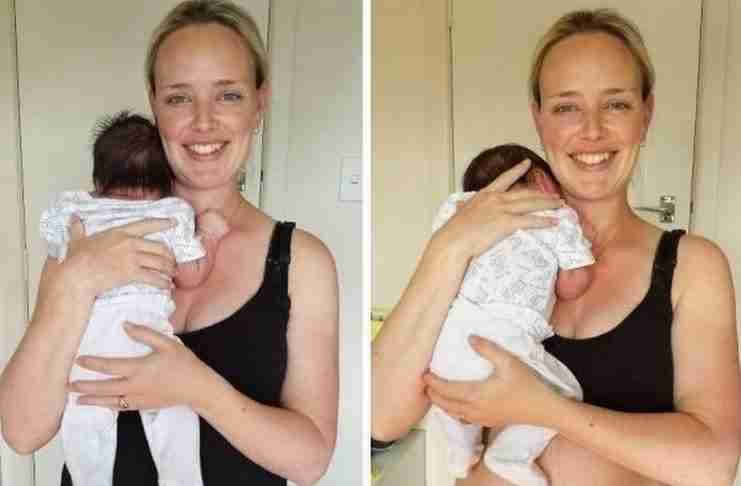 Οι αλλαγές στο σώμα μιας νέας μητέρας. Μια γενναία φωτογράφιση