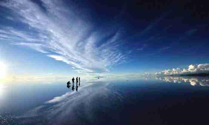 Η ξηρή λίμνη Σαλάρ ντε Ουγιούνι, Βολιβία