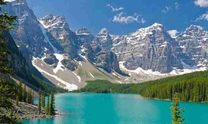 Λέικ Λουίζ, Καναδάς