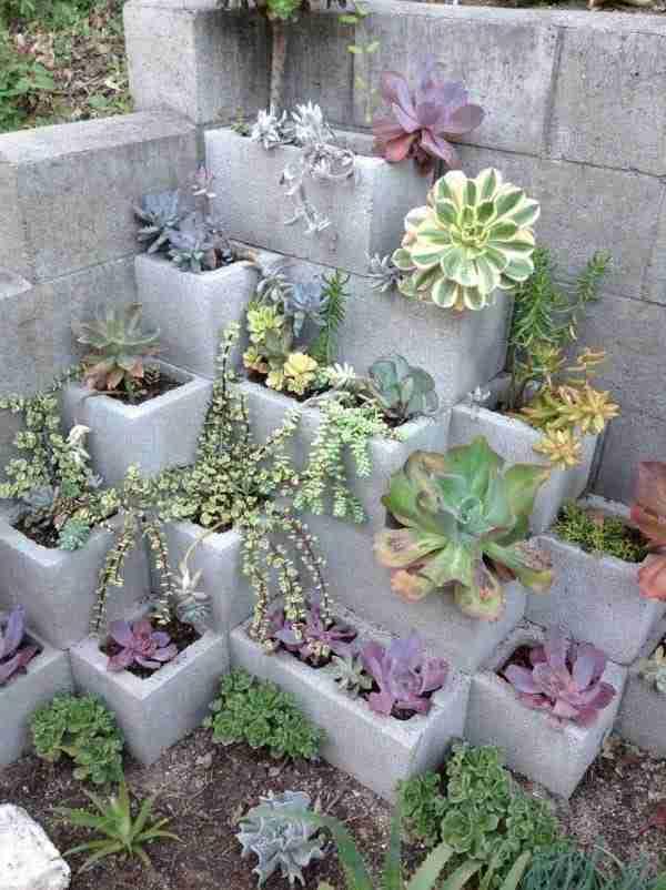 25 καταπληκτικά πράγματα που μπορείτε να φτιάξετε με τσιμεντόλιθους