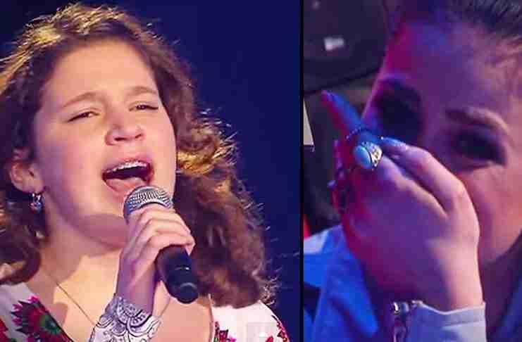 Όταν αυτό το μικρό κορίτσι ανέβηκε στη σκηνή έκανε τους κριτές να δακρύσουν!