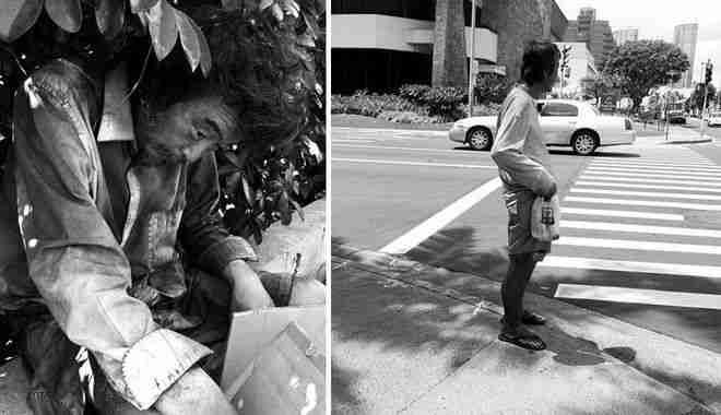 Η ίδια γνώρισε τον άγνωστο άνδρα, που όμως έμοιαζε τόσο οικείος, όταν του είχε ζητήσει να τον φωτογραφίσει.