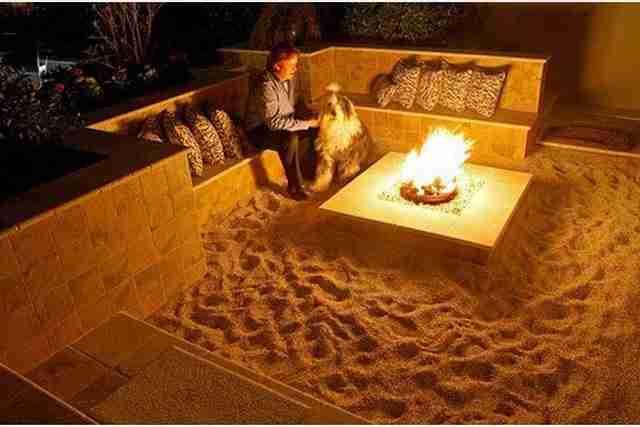 Άμμο στην αυλή σας