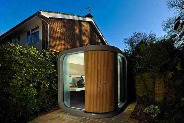 Ένα γραφείο σαν αυτό στην αυλή σας