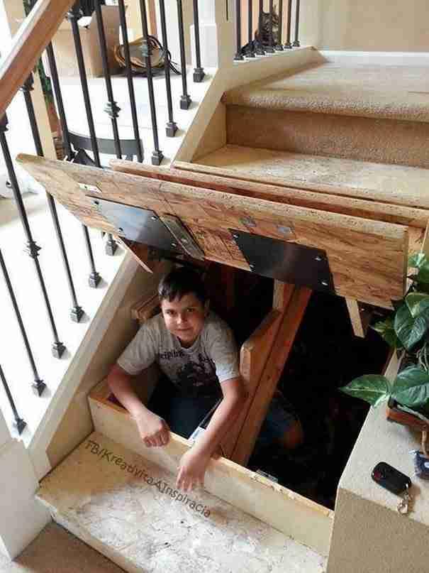 Φτιάξτε ένα κρυφό δωμάτιο