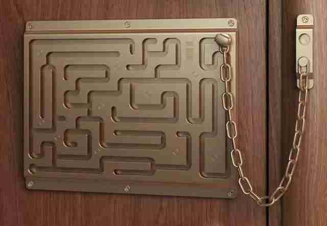 Αλλάξτε την συνηθισμένη κλειδαριά με ένα.. λαβύρινθο!