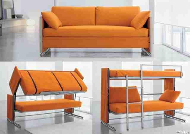 Καναπές που γίνεται κρεβάτια